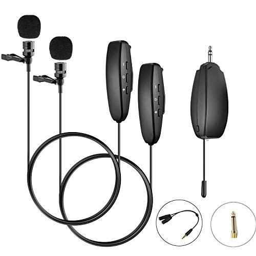 ワイヤレスマイク ヘッドセット ワイヤレス UHF クリップマイク 無線マイク 動画撮影 録音 拡声器 カメラ スマホ 軽量 高音質