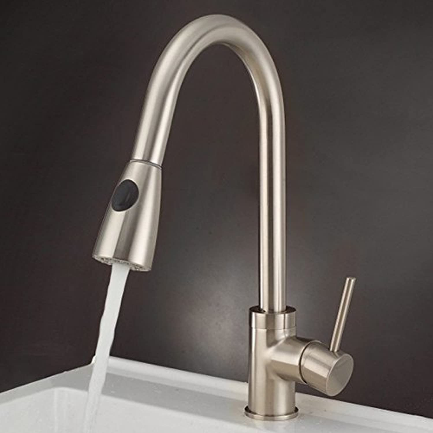 Hlluya Professional Sink Mixer Tap Kitchen Faucet Pull the kitchen sink Faucet