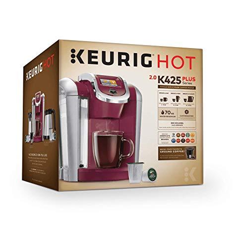 Keurig K425 2.0 Brewing System, Vintage Red