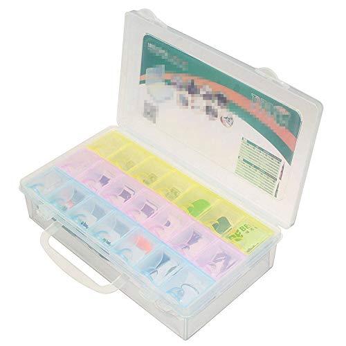 Caja de herramientas 12 en 1 Material de aleación Multi Función Herramientas Caja con Piezas Caja de Almacenamiento 20x153x53mm Aplicable Herramientas de Almacenamiento