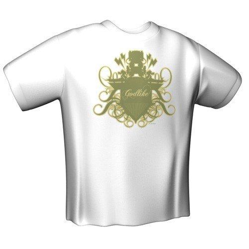 Preisvergleich Produktbild GamersWear GODLIKE T-Shirt White (L)