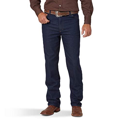 Wrangler Men's Cowboy Cut Active Flex Slim Fit Jean, Prewash, 36W X 32L