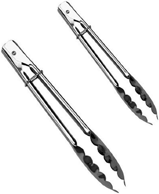 12 Inch And 9 Inch Stainless Steel Tongs