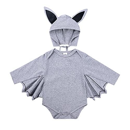 Set di tutine per costume per Halloween, per costume da cosplay, grigio, 12-18 mesi
