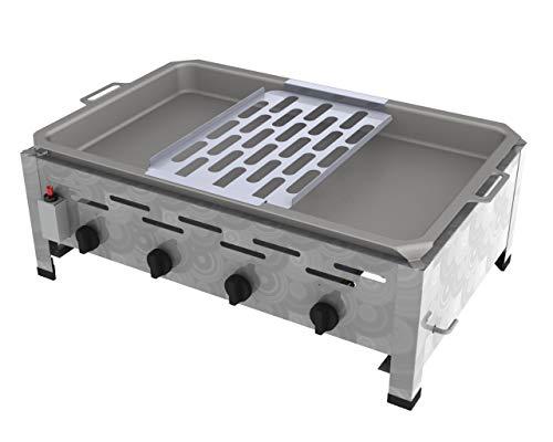 ChattenGlut Reibekuchenbräter 4 Flammig 14,7 kW Tischgerät Reibekuchenauflage