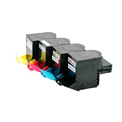 Set ABC kompatible Toner für Lexmark CS317 CS317dn CS417 CS417dn CS517 CS517de CS517dn CX317 CX317dn CX417 CX417dn CX517 CX517de CX517dn