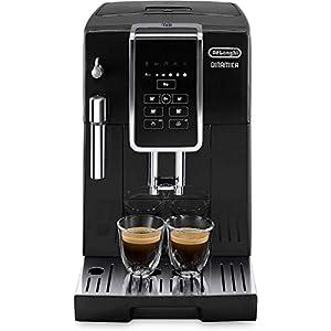 De'longhi Dinamica Ecam350.15.B – Cafetera superautomática, 1450w, panel control intuitivo táctil lcd, dispositivo de cappuccino, negro