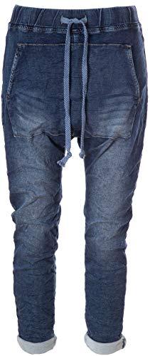 Basic.de Boyfriend-Jeans mit Känguru-Tasche 7168 S