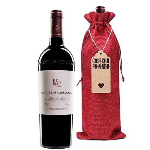 Pago de los Capellanes Crianza - Botella Regalo - Envío Gratis 24 H - Ribera del Duero - Seleccionado por y enviadoCosecha Privada - - Estuche regalo