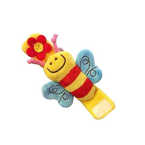 Maidi Infantil del bebé Las muñecas Animales de Juguete de Regalo del traqueteo de la Felpa Suave Desarrollo de la Primera Educativo para niños y niñas de