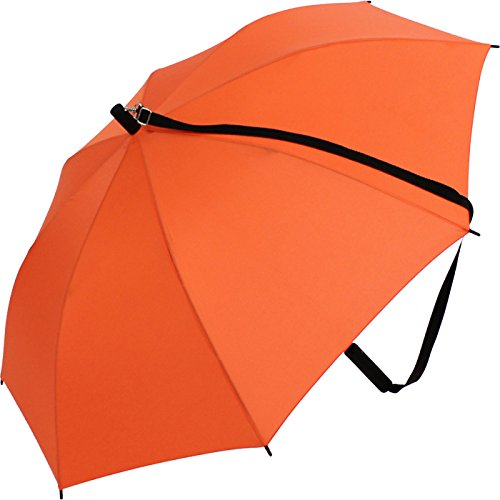 iX-brella Umhängeschirm Hands-Free - Orange