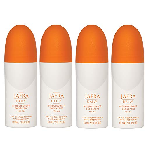 Jafra Deodorant Antiperspirant Roll-on 4 x 60 ml