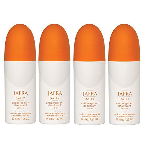Jafra Deodorant Antiperspirant Roll-on 4 x 60 ml