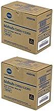 TNP27K 6000 Page-Yield Per Ctg A0X5133 Genuine Konica Minolta Black Toner Cartridge 2 Pack Black