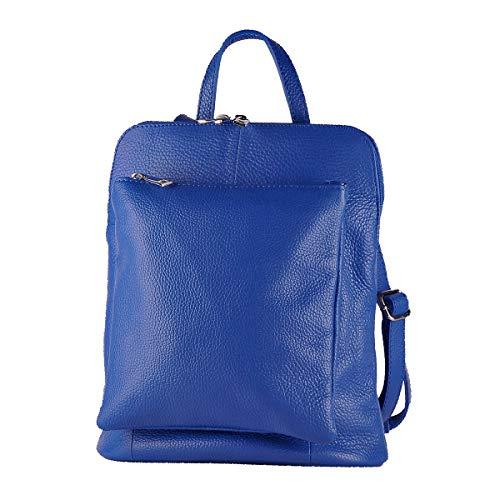 BORDERLINE - 100% Made in Italy - Bolsa-mochila de las mujeres en...