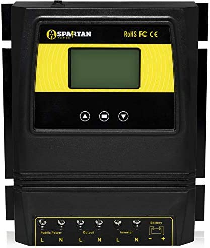 50A 5500 Watt Automatic Transfer Switch by Spartan Power Great for Solar Wind Off Grid Systems product image