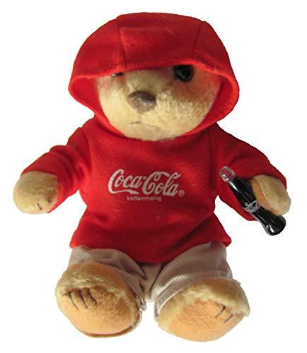Coca-Cola - Bär mit Kapuzenshirt - 12 cm