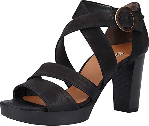 Paul Green 6657 Damen Sandalen Schwarz, EU 39