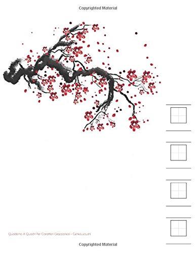 Quaderno A Quadri Per Caratteri Giapponesi - Genkouyoushi: Scrittura Verticale, Traduzione E Pronuncia. Impara I Kanji, Katanaka e Katakana. Notebook ... Di Appunti Per Calligrafia Giapponese