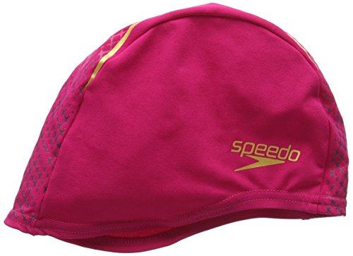 Speedo End Cap Au Cuffia Nuoto, Magenta/Rosa Fluo/Oro, Taglia Unica