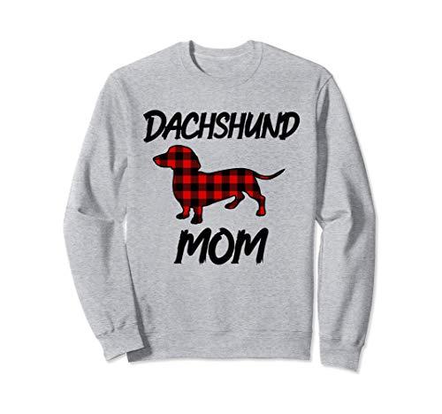 Idea regalo mamma bassotto natalizio per donna Felpa