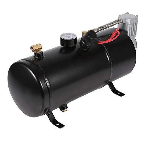 BOLORAMO Bomba de neumáticos, Bomba de Aire para Coche, inflado rápido, Duradero y fiable para neumáticos de Coche, Bicicletas para Otros inflables