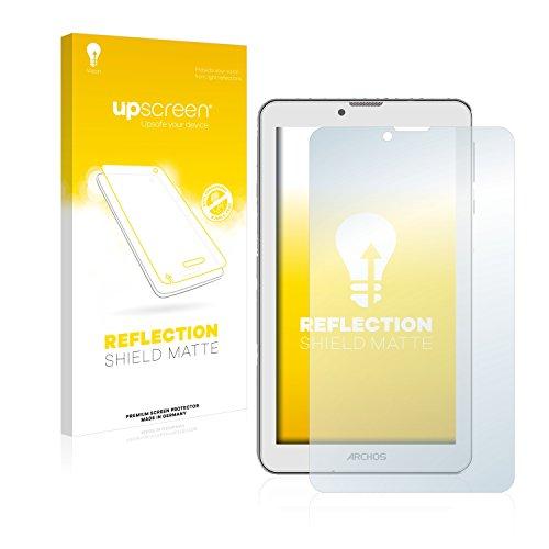 upscreen Entspiegelungs-Schutzfolie kompatibel mit Archos 70 Xenon Color – Anti-Reflex Bildschirmschutz-Folie Matt