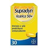 Supradyn Ricarica 50+ Integratore Alimentare Multivitaminico e Minerali con Coenzima Q10 contro Stanchezza Fisica e Affaticamento, 30 Compresse
