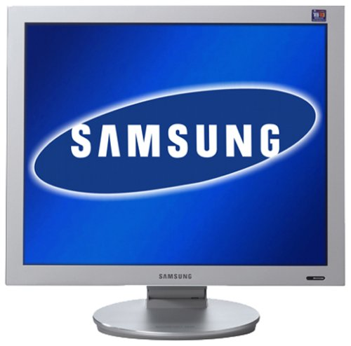 Samsung Syncmaster 193P 48,3 cm (19 Zoll) TFT Monitor Glanz Weiss DVI Kontrast 1000:1