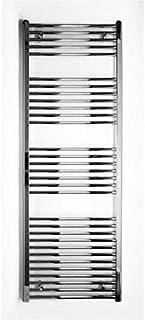 Radiador de baño cromo recto 1775h x 600750B Conexión Central