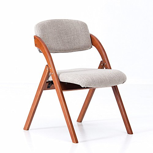 LLRDIAN Einfache Domäne Esszimmerstuhl Massivholzstuhl Bürostuhl Schreibtischstuhl einfache Moderne Café Tische und Stühle Nordic Retro-Stuhl Einfacher Klappstuhl (Color : J)