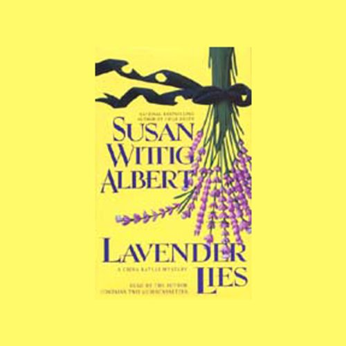 Lavender Lies audiobook cover art