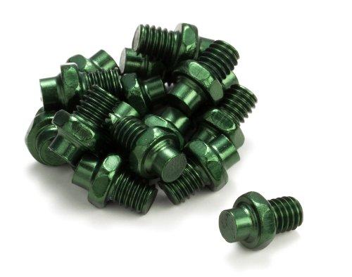 Reverse Escape Pedal R-Pin Set Alu grün