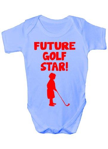 Golf Star avenir Sport bébé humoristique bébé 0–3 mois pour les tailles 12–18 mois - Bleu - 6 mois