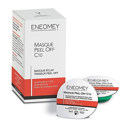 Eneomey - Masque Peel Off C10 Eclat Tenseur 10x5ml Eneomey