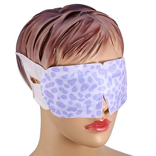 Qkiss 7 Teilige Einweg Dampf Augenmaske Eye Spa Maske zur Augenpflege Selbsterhitzende Technologie zur Linderung von Augenermüdung
