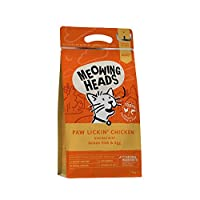 100 Percent natural chicken and fish - paw lickin' chicken cat food is made with 100 Percent natural chicken and fish blended with yummy brown rice and veg Natural ingredients - dry cat food is made using only the ideal quality, natural ingredients. ...