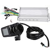 FEBT Moteur Brushless Controller E-Bike, 24V/36V/48V/60V 1000W Panneau LCD étanche Kit de...