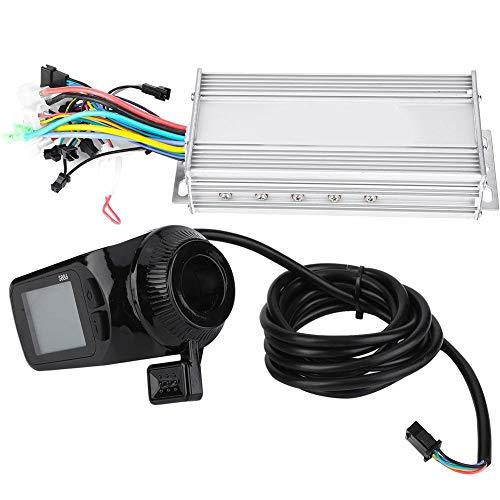 Controlador sin escobillas de motor E-Bike, 24V/36V/48V/60V 1000W Panel LCD impermeable Kit...