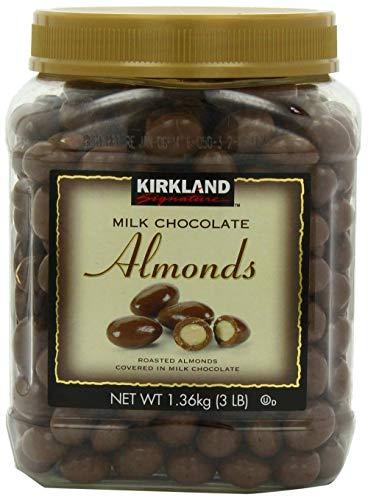 Kirkland Signature Milk Chocolate Almonds Family Bundle