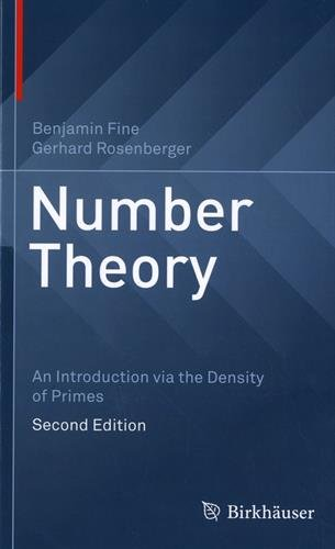 Number Theory: An Introduction via the Density of Primes