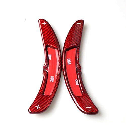 ZHHRHC Paletas de Cambio de Volante de Fibra de Carbono para Coche, aptas para Panamera Macan Cayenn