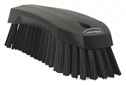 Vikan Hand Scrub reinigingsborstel, polypropyleen, polyester intrekken, 3890, zwart, 1