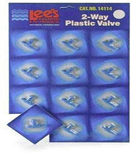Plastic 2 - way Valve (12/cd)