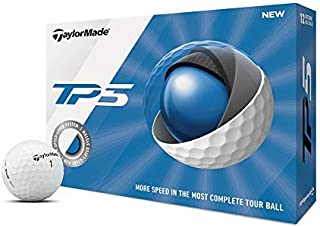 توپ TaylorMade TP5 توپ گلف، سفید (یک دوجین)