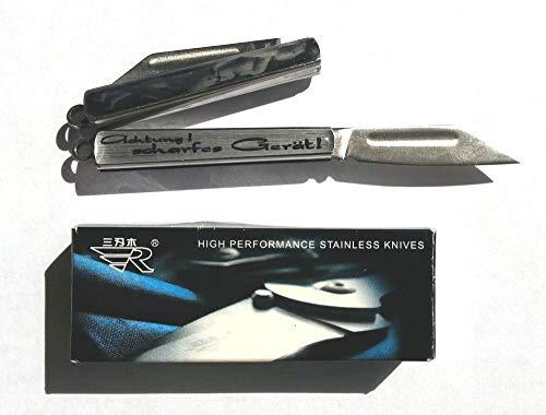 SANRENMU Minitaschenmesser mit erotischem 3D-Aufkleber