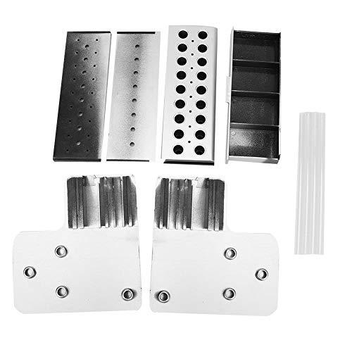 Rehomy Gafas de reloj multifunción para reparación de herramientas de almacenamiento con cajón