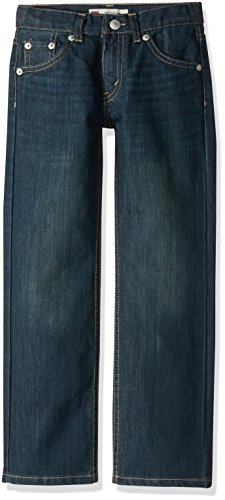 Levi's Boys' Big 505 Regular Fit-Jeans, Cash, 8