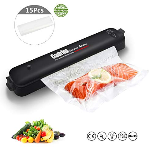 Machine Sous Vide,Cadrim Machine de Scellage Vacuum Sealer Appareils...