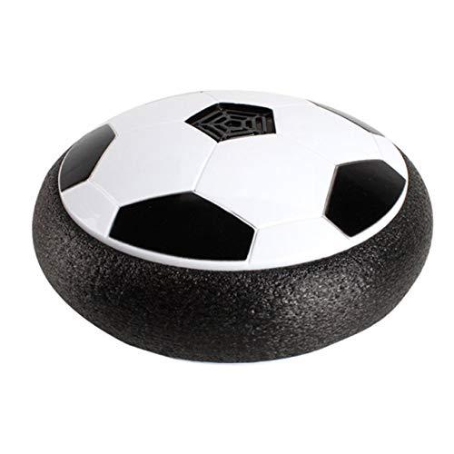 18 cm fußball Toys mit Music Boy Home Game Bunte led licht blinkende Kugel Spielzeug air Power fußbälle Stress Ball (schwarz) DEjasnyfall